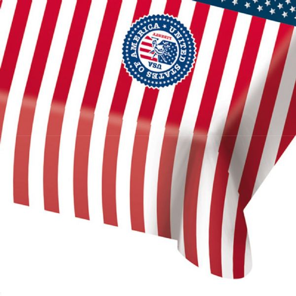 USA Party Tablecover 130 x 180 cm United States of America